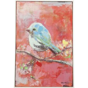 Картина Touched Bird Red Back 60x40см