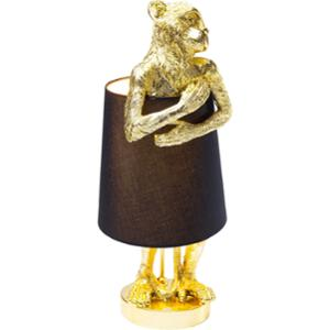 Настолна лампа Animal Monkey Gold Black