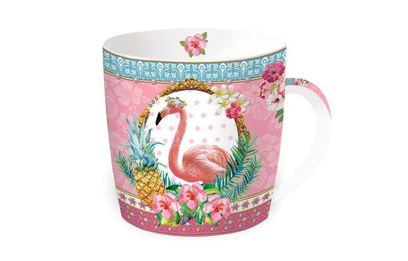 Чаша FANCY FLAMINGO