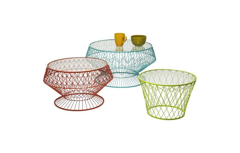 Холна маса Wire Colore ( 3/Set)